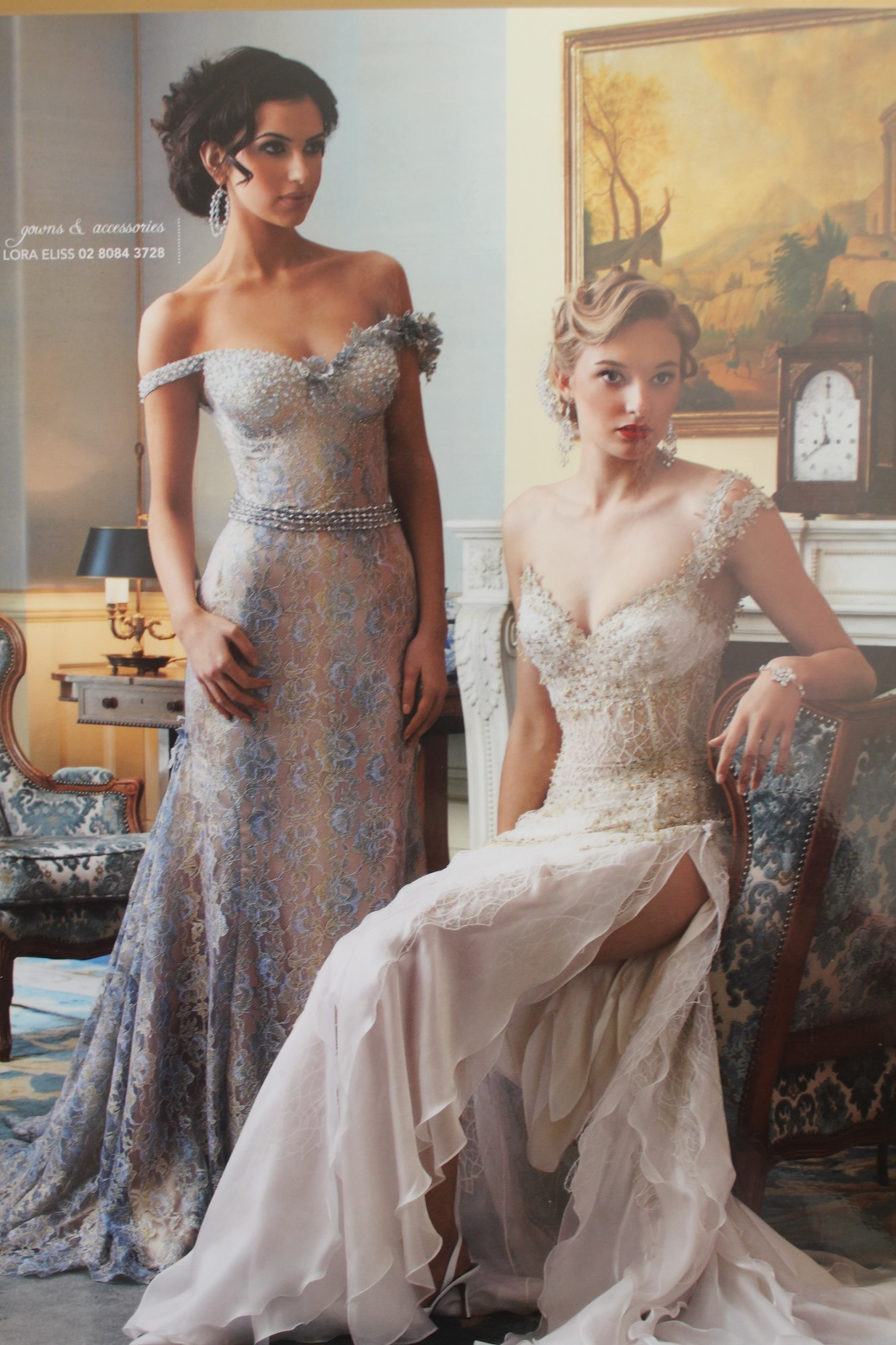 Wedding Dresses For Non Traditional : Non traditional wedding gowns lora eliss moda